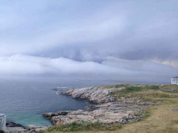 Some of the amazing cloud formations (even though this storm preceded Tropical Storm Arthur by a day).